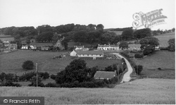 The Village From Bridgend c.1955, Dundrennan