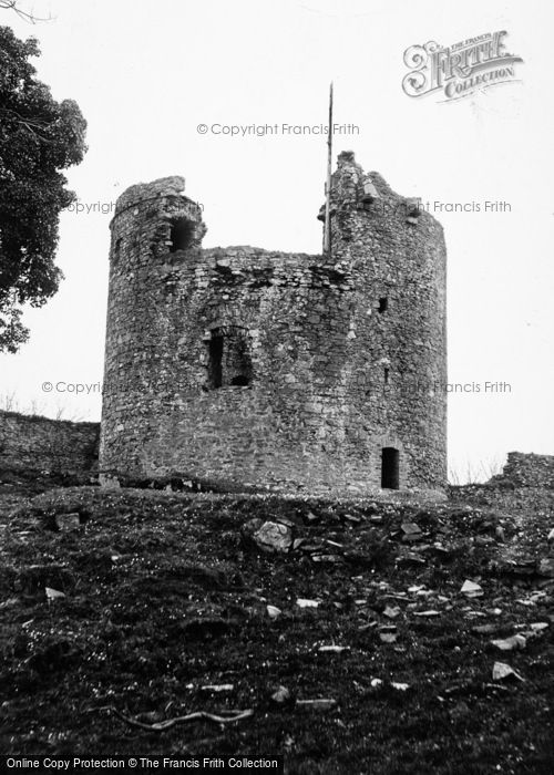 Photo of Dundrum, The Castle, Tower c.1960