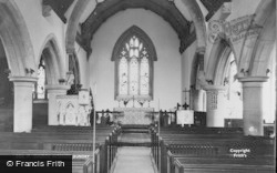 Dundry, Church Interior c.1960