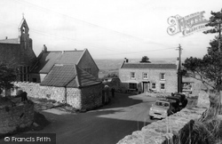 Dundry, The School And Stores c.1960
