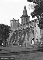 Dunfermline, Abbey 1953