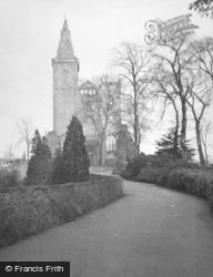 Dunfermline, Abbey Church c.1955