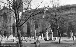 Dunfermline, Abbey, The Graveyard c.1955