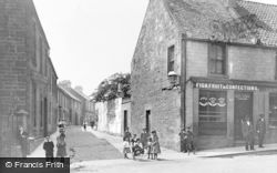 New Row And Priory Lane c.1900, Dunfermline