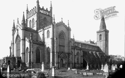 Dunfermline, The Abbey c.1880