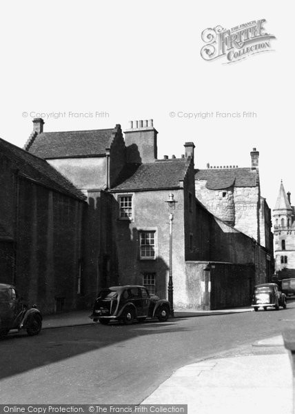 Photo of Dunfermline, The Abbot's House 1953