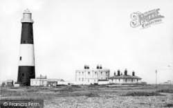 Dungeness, Lighthouse c.1960