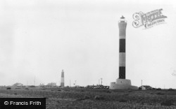 Dungeness, The Lighthouses c.1965