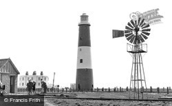 Dungeness, The Old Lighthouse c.1960