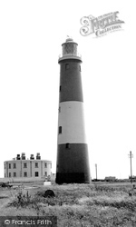 Dungeness, The Old Lighthouse c.1965