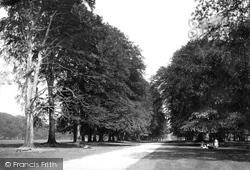Dunham Massey, Dunham Park c.1885