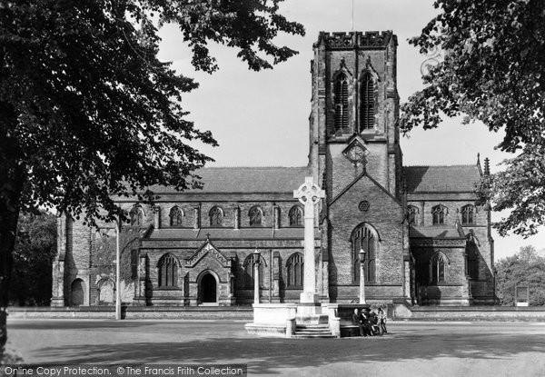 Dunham Massey, St Margaret's Church c1955