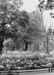 Dunham Massey, St Margaret's Church c.1955