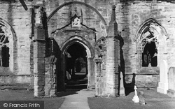 Dunkeld, Cathedral Doorway c.1939