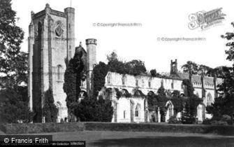 Dunkeld, Cathedral from South West c1890