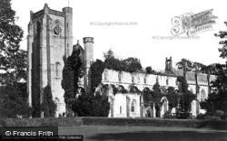 Dunkeld, Cathedral From South West c.1890