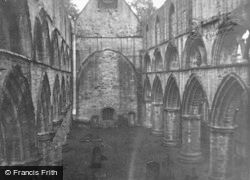 Dunkeld, Cathedral, Nave c.1955