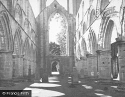 Dunkeld, Cathedral, Nave Looking West c.1939