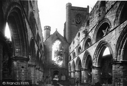 Dunkeld, Cathedral Ruins 1900