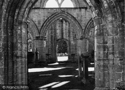 Dunkeld, Cathedral Ruins c.1939