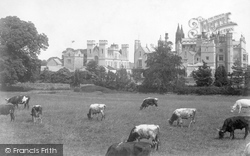 Dunkeld, Conisherd Priory From South West c.1890