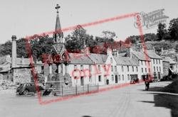 Market Cross And Fountain c.1939, Dunkeld