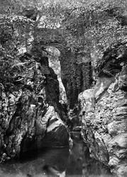 Rumbling Bridge From Below c.1880, Dunkeld