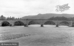 Dunkeld, The Bridge 1900