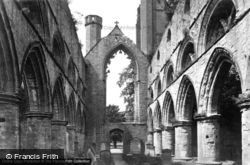 Dunkeld, The Cathedral, The Nave c.1890