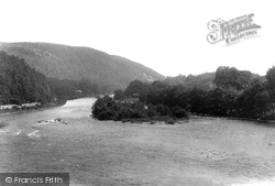 Dunkeld, The Tay From Bridge 1900