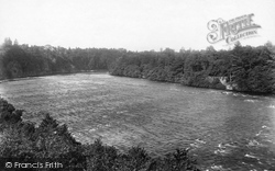 Dunkeld, The Tay From Summerhill 1900