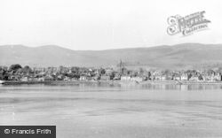 Dunoon, And Mountains From The Clyde c.1955