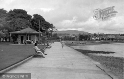 Dunoon, By The Putting Green c.1955
