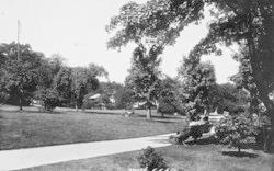 Dunoon, Castle Gardens 1897