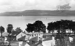 Dunoon, Cloch Point From Cowal House c.1955