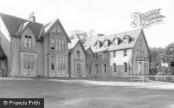 Dunoon, Cowal House From The Lawn c.1955