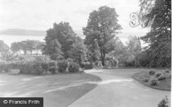 Dunoon, Cowal House, The Drive c.1955