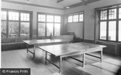 Dunoon, Cowal House, The Games Room c.1955
