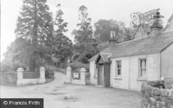 Dunoon, Cowal House, The Lodge c.1955