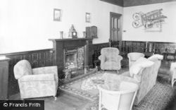 Dunoon, Cowal House, The Lounge c.1955