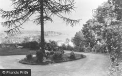 Dunoon, Cowal House, View From The Drive c.1955
