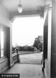 Dunoon, Cowal House, View From The Entrance c.1955