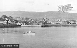 Dunoon, From A Boat On The Clyde c.1955