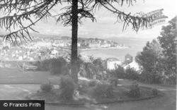 Dunoon, From Cowal House Drive c.1955