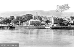 Dunoon, From The Boat c.1955