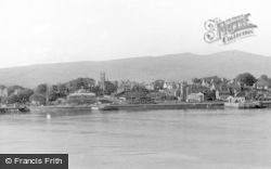 Dunoon, From The Clyde c.1955