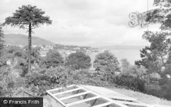 Dunoon, From The Park c.1955