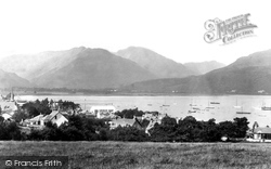 Dunoon, Sandbank And Holy Loch 1901