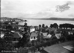 Dunoon, The Clyde From Cowal House c.1955