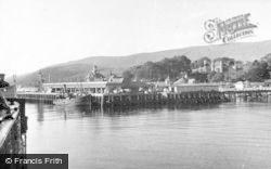 Dunoon, The Pier c.1955